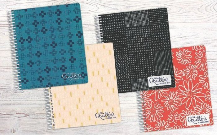 2020 Quilter's Planner Covers