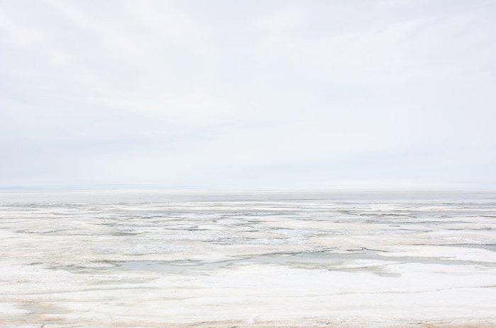 Arctic Ocean at Tuktoyaktuk, Northwest Territories, Canada, photograph by Michael Fuchs