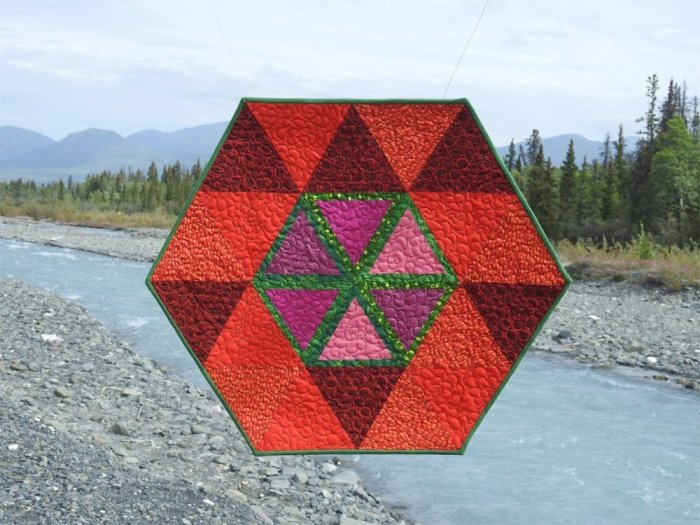 River Antoine Mini Quilt Finish, Quill Creek, Yukon