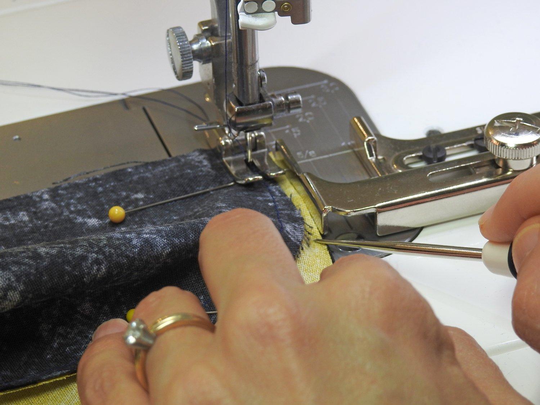 Sew Third Curve Seam