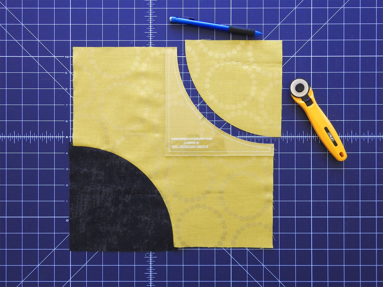 Cut and Prepare Second Curve in Star Fabric