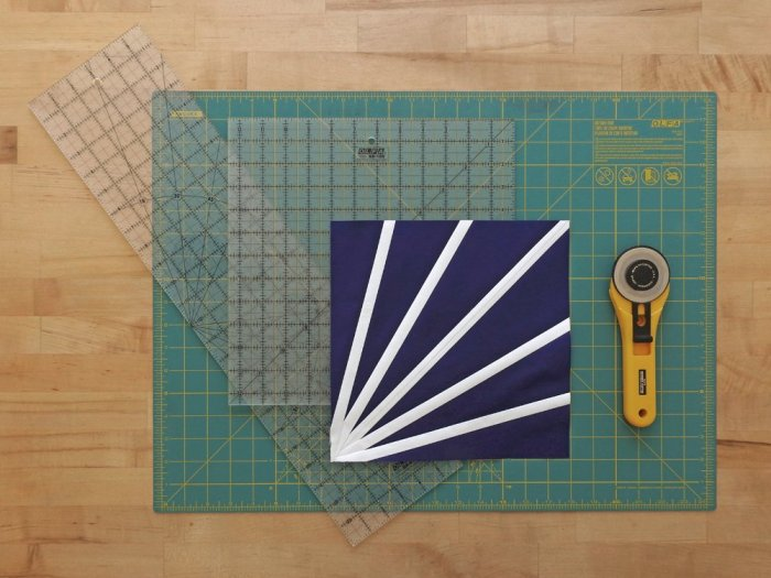 Diffraction Quilt Block Tutorial