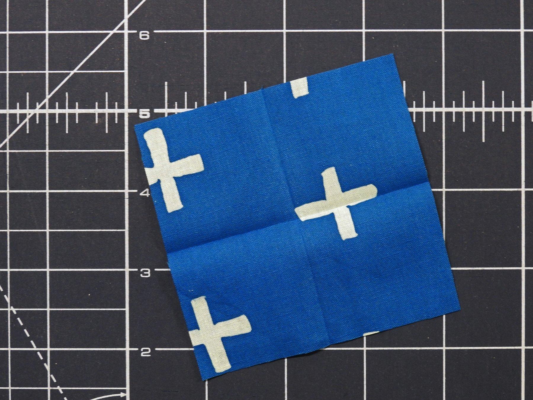 Fold Center Square in Half