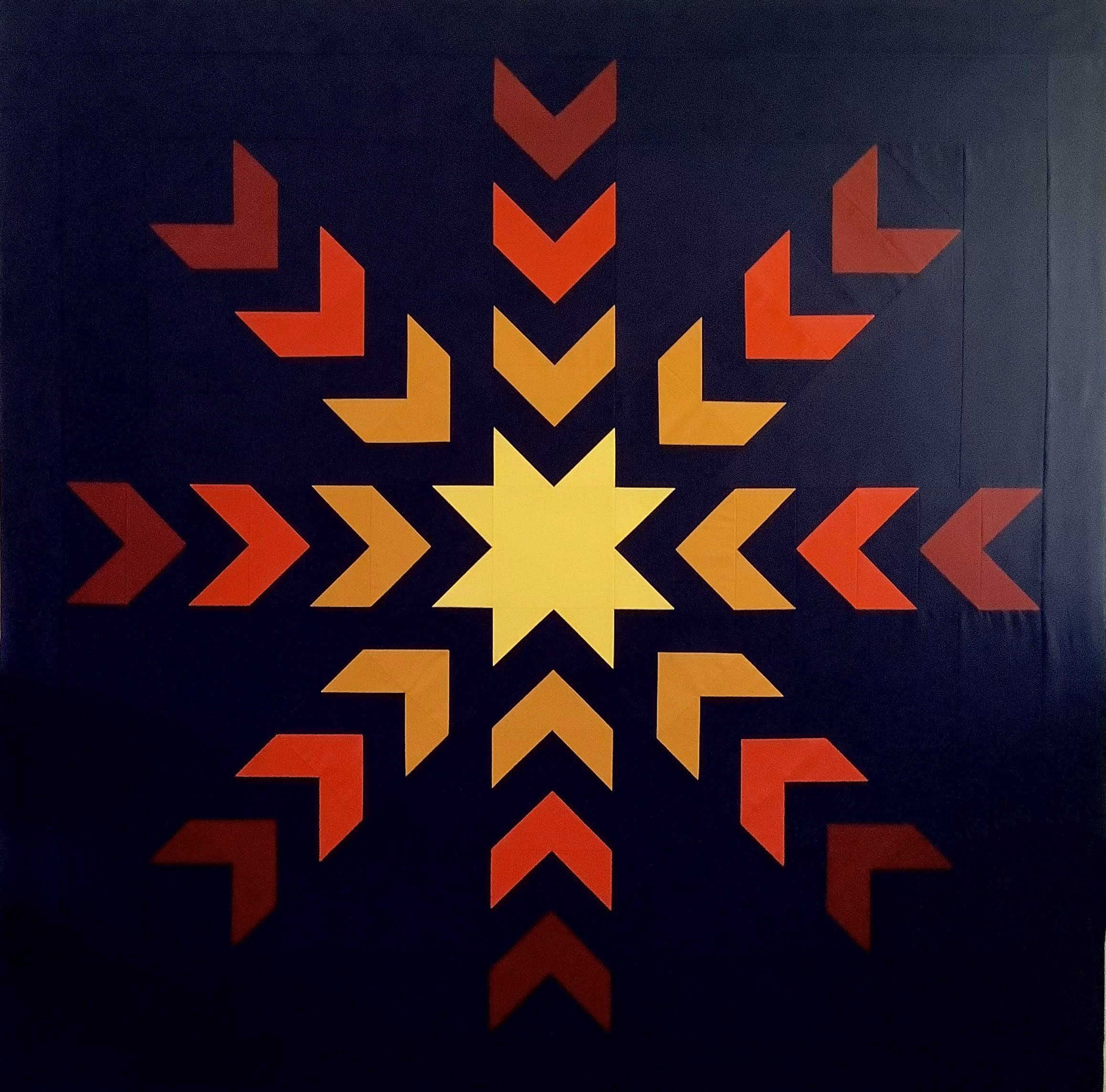 Pulsar - Pieced Quilt Top