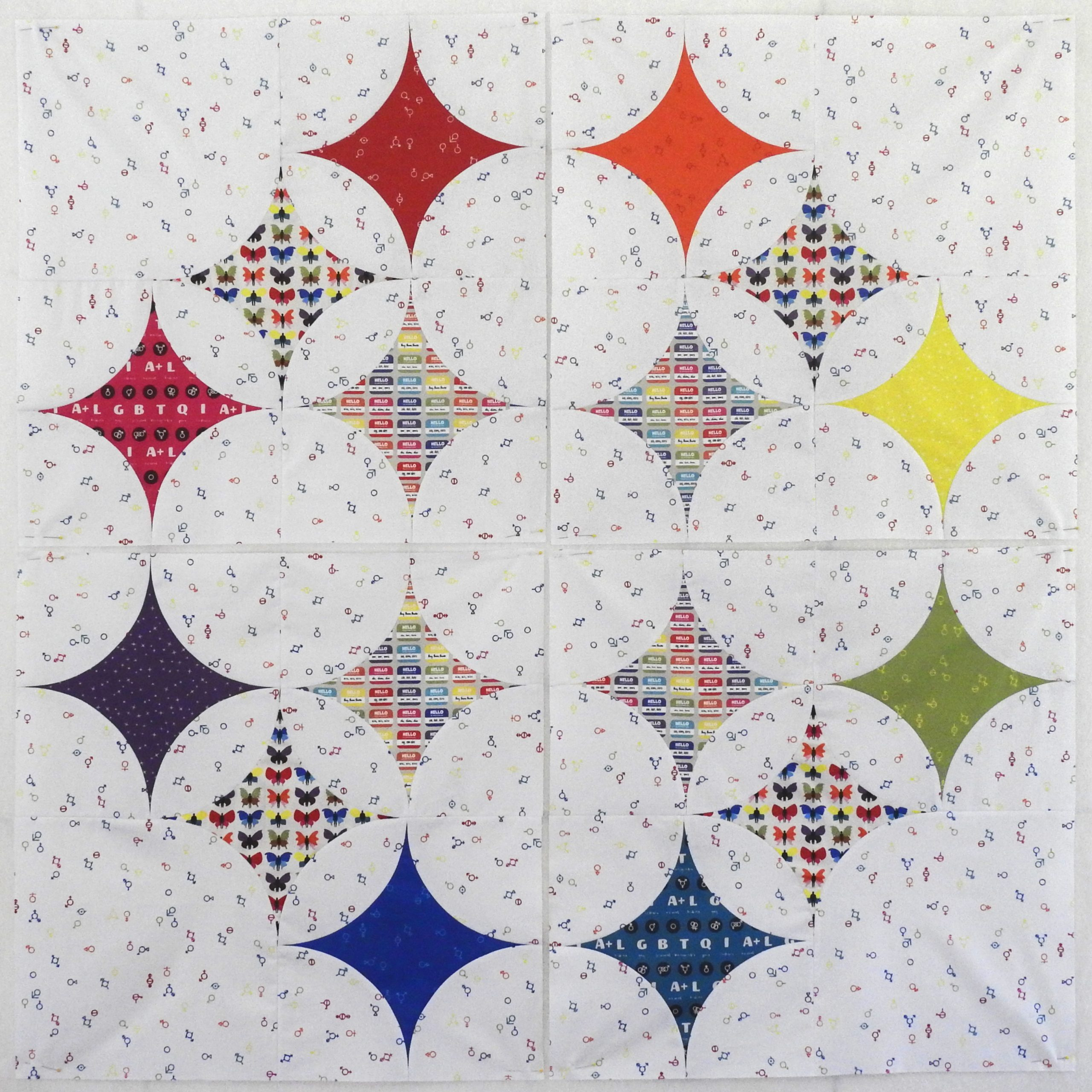 Love is Love Fabric Collection Sky Full of Stars Quilt