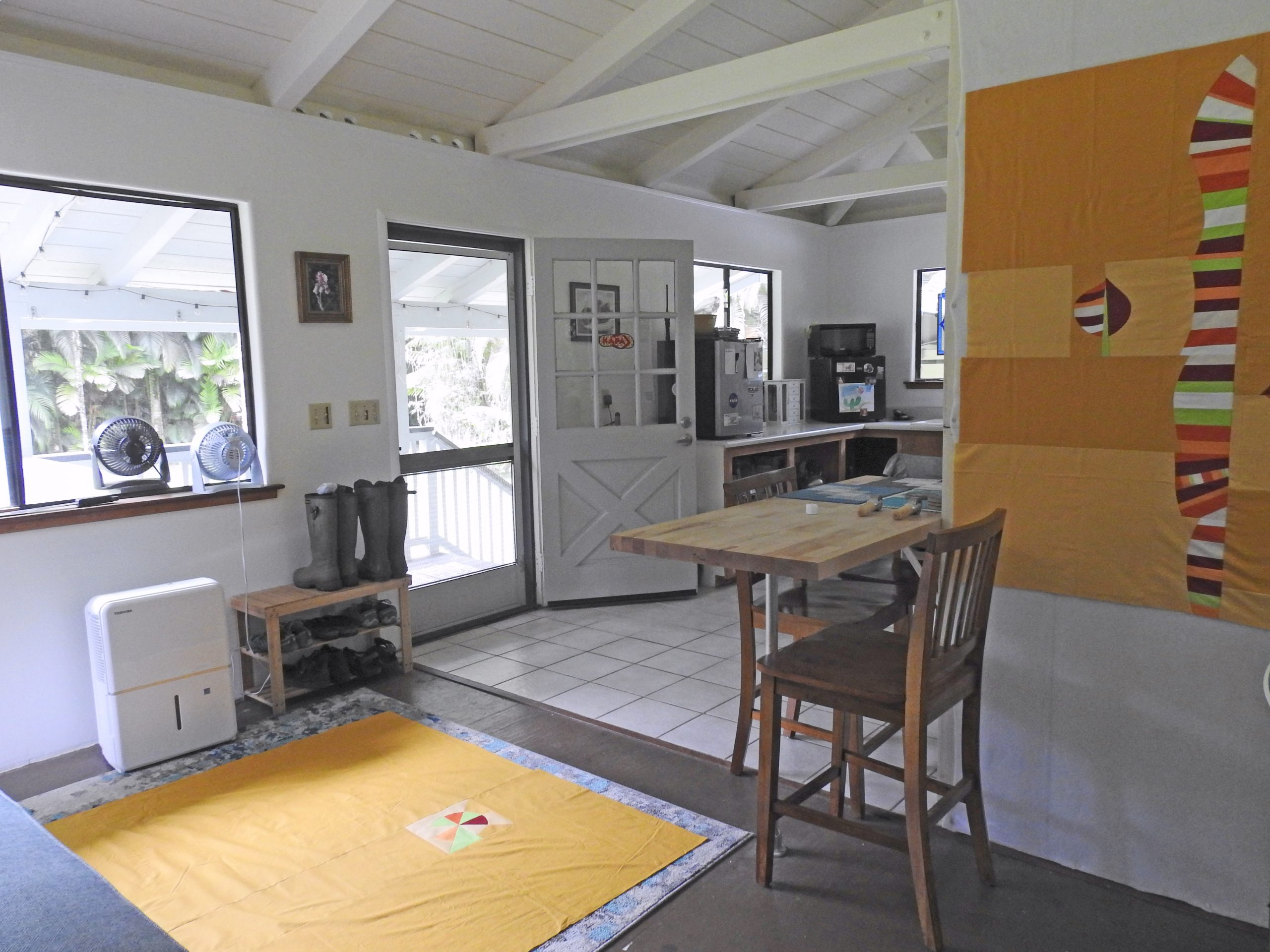 Quilting in a Small Space