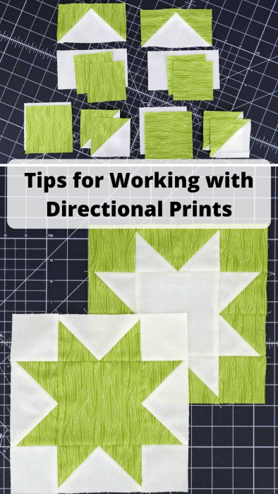 Tips for Working with Directional Prints
