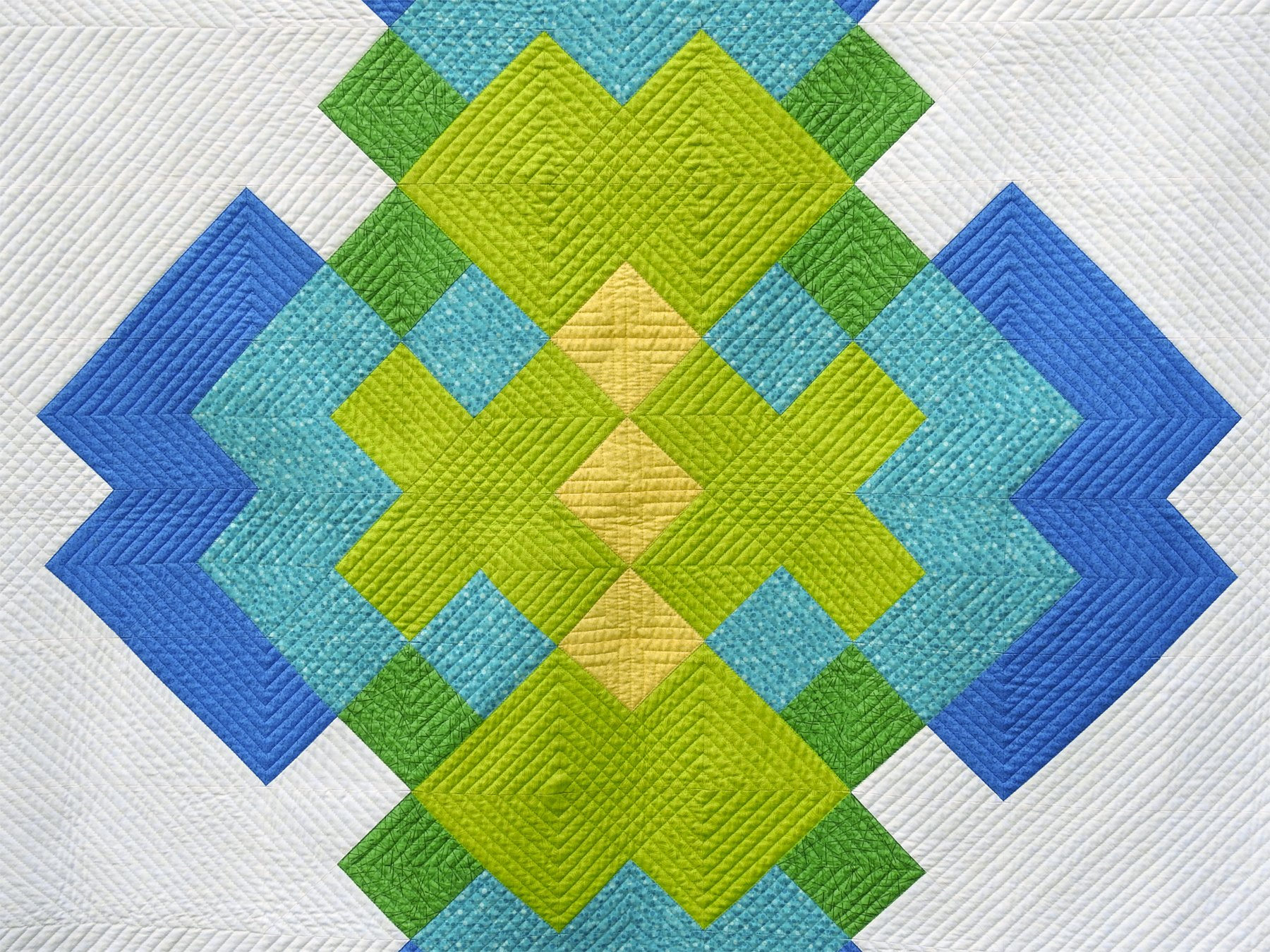 Planview - Fabric and Quilting Detail
