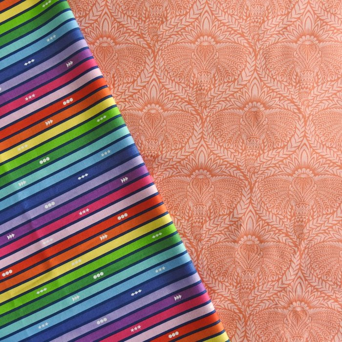 Playful Partial Seams Sample Quilt Fabric