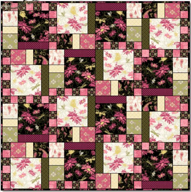 Aubrey Quilt Pattern beautiful colors 2020 5