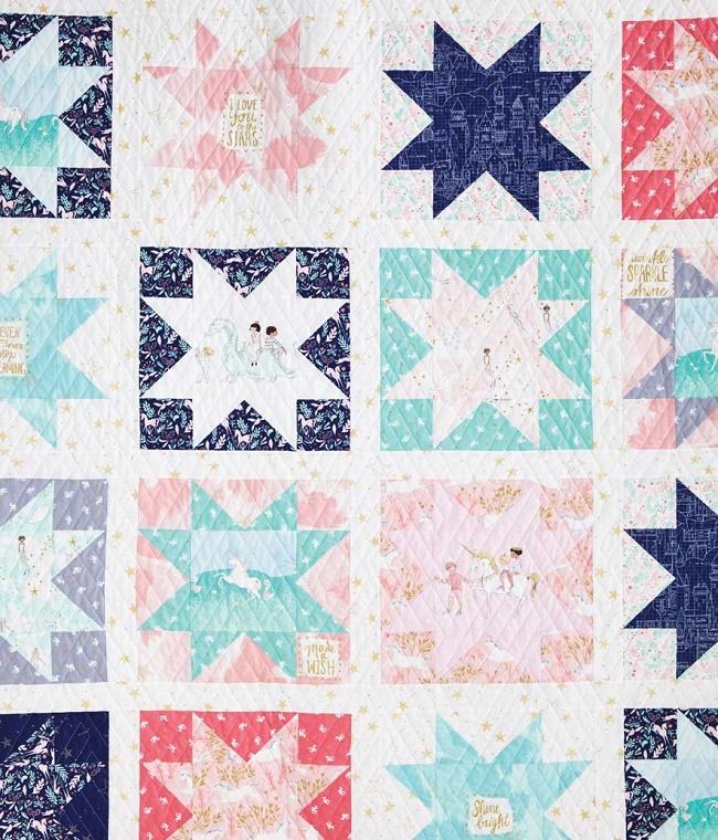 magic star quilt 1