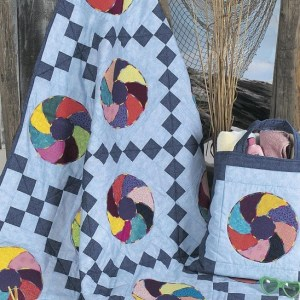 Beach Ball Quilt with Tote Bag Free Pattern (3)