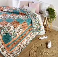 Nouveau Meadow Quilt Free Patterns 2020