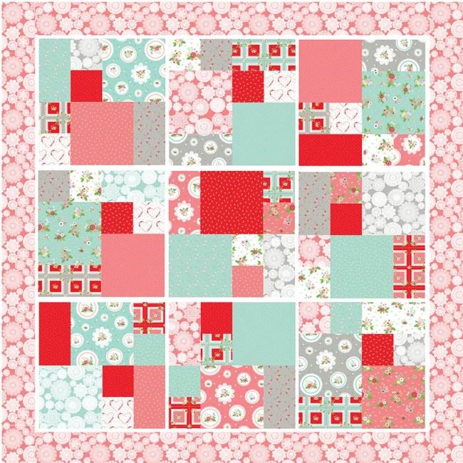 Vintage Doily Keepsakes Quilt – Free Pattern