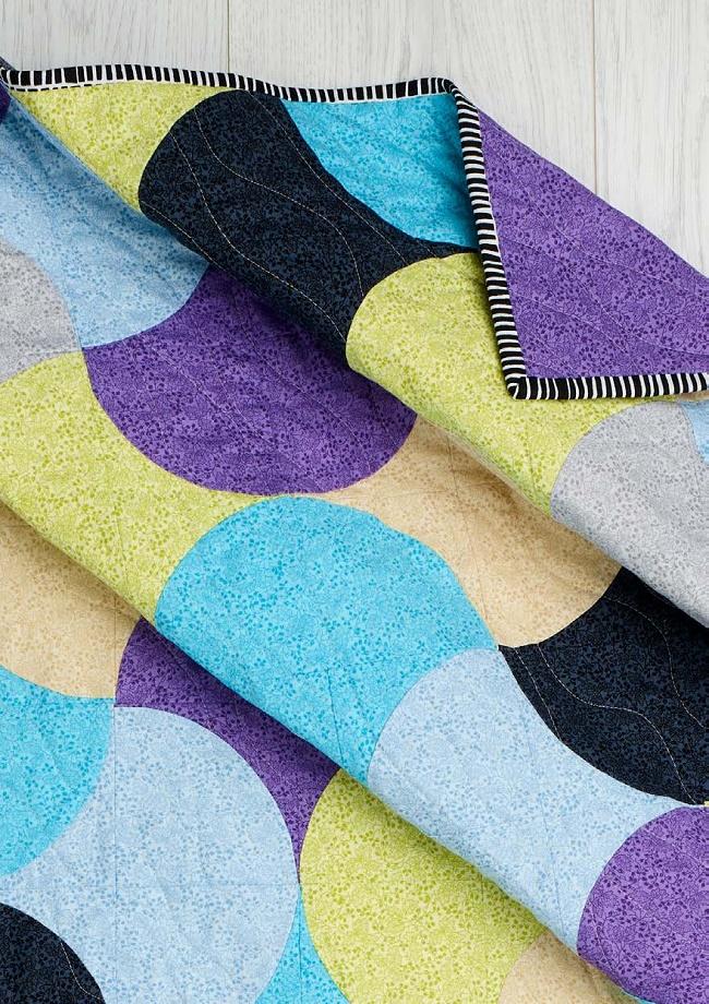 Ditsy Blender Quilt Pattern