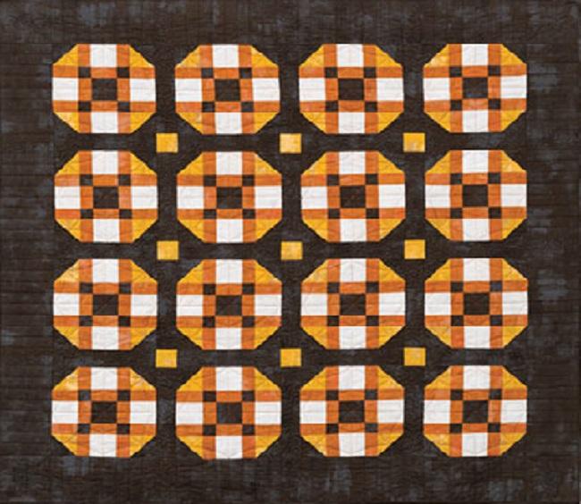 Candy Corn Twist Quilt Pattern