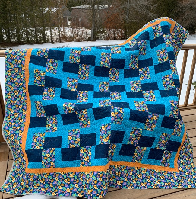 Chunk It Up Free quilt pattern