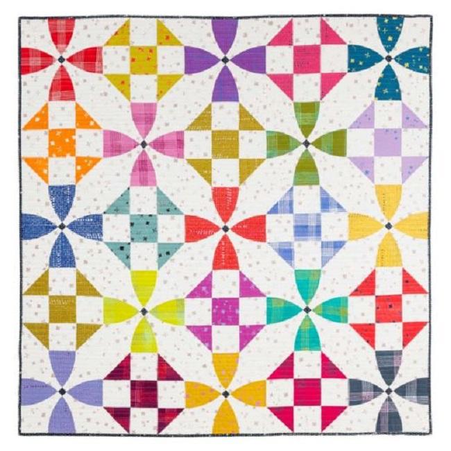 Happy Village Quilt Pattern