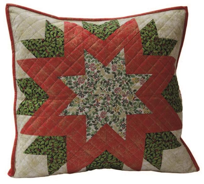 Christmas Star Cushion