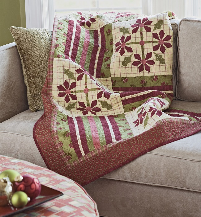 Holiday Blooms Quilt