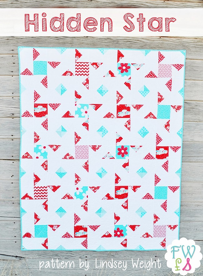 Hidden Star Quilt Free Pattern