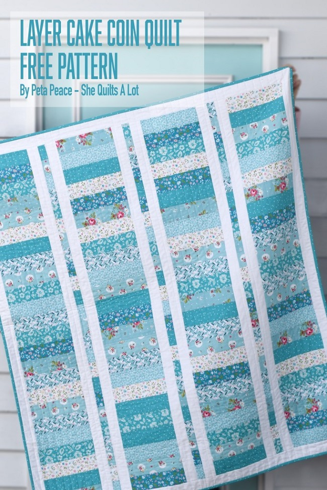 Layer Cake Coin Quilt pattern