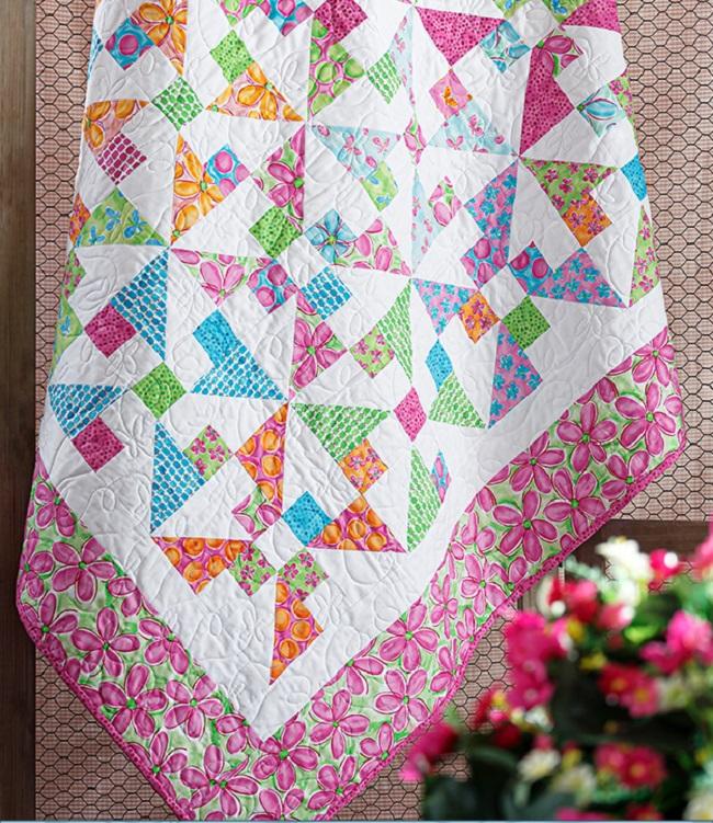 Pinwheel Frolic Quilt