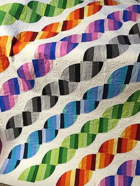Modern Melody Quilt free pattern
