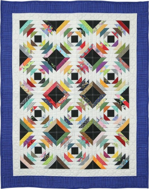 Scrappy Pineapple Quilt Pattern