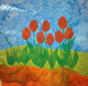 Quilted Tulips