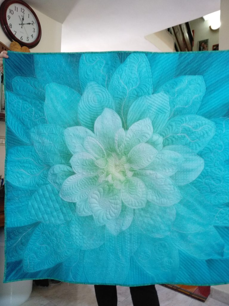 Free Motion Quilting with Harriet Carpanini