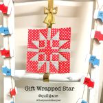 Gift Wrapped Star Block
