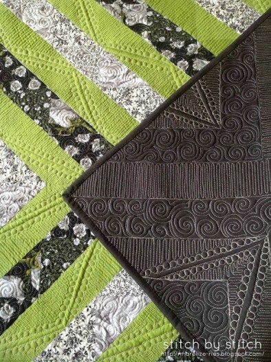 Marelize Ries, found on http://marelize-ries.blogspot.com/2013/12/asymmetrical-half-square-triangle-quilt.html