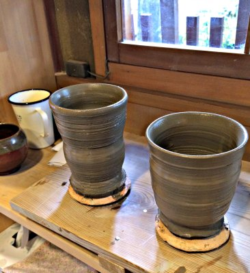 Pottery Class Cups