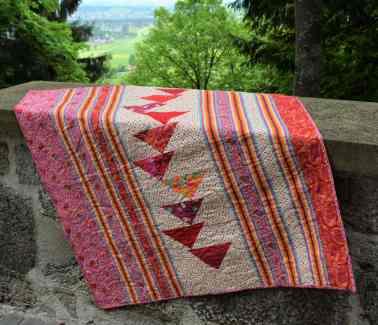 "Back of ""Mt Bohemian Princess Quilt"""