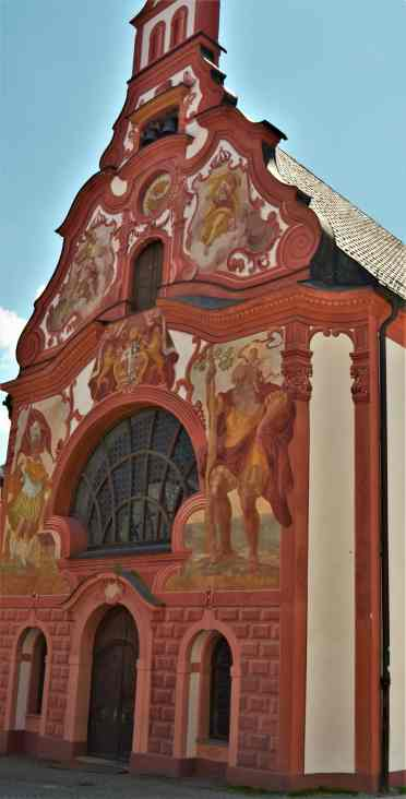Outside facade of the Church of the Holy Spirit