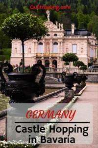 "Germany's Bavaria region has three wonderful fairy tale castles built by ""Mad"" Kind Ludwig #germany #bavaria #neuschwanstein #linderhof #hohenscheangau #csastle"
