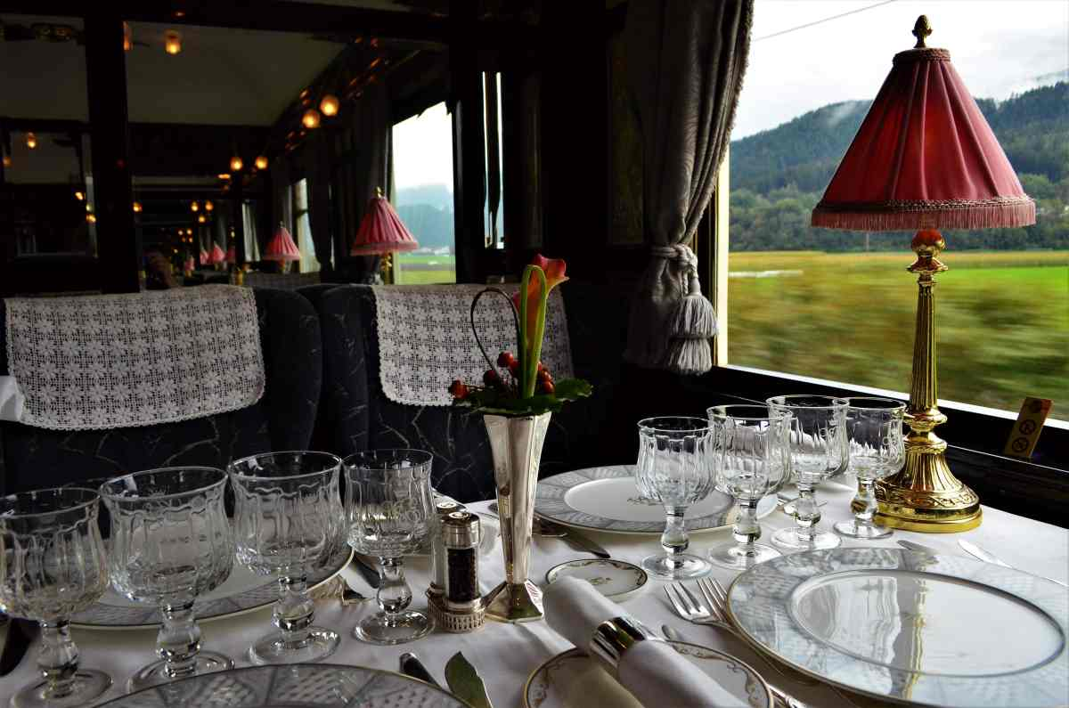 Luxury Without Murder on the Orient Express