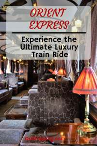 A luxury experience like none other on the The Orient Express from Venice to London #oreintexpress #luxurytrain #train