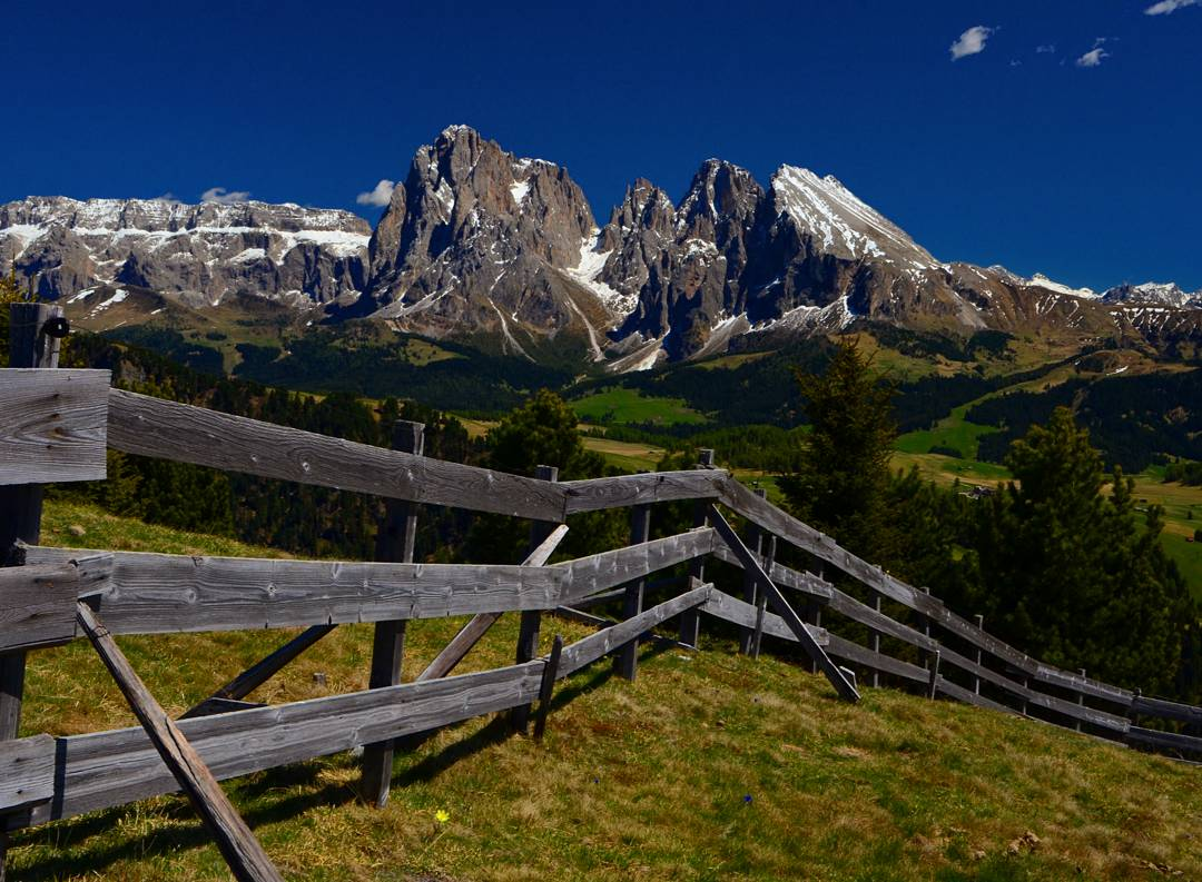 PhotoPOSTcard – Italy's Dolomites-Built by Mother Nature, Tamed by Man