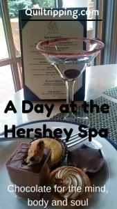 Chocolate for the mind, body and souls at the Hotel Hershey spa #hersheyspa #chocolatespa #hotelhersheyspa