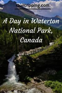 How to spend a day at Waterton National Park #canada #waterton #princeofwaleshotel