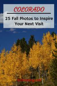 25 photos of golden aspens in fall in Colorado #colorado #goldaspens #autumn #autumnincolorado