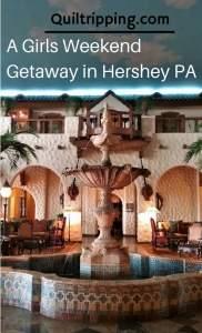 A Girl's Weekend in Hershey PA #hershey #hersheyweekend #girlsweekend