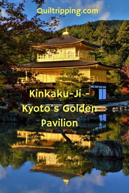 Kyoto's Golden Pavilion-the Kinkaku-ji temple