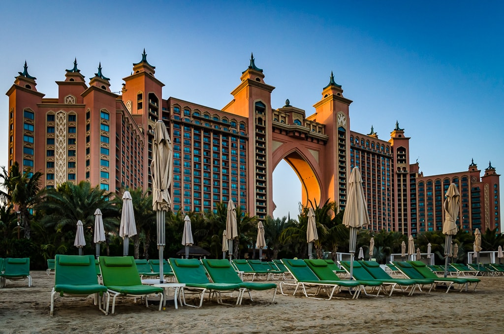 a beach holiday to Atlantis Dubai