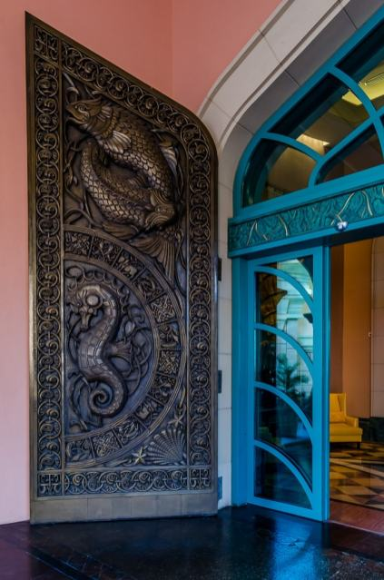 Atlantis, The Paln front door