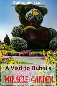 A visit ti Dubai Miracle Garden