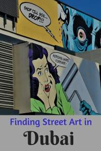 Where to Findi Street Art in Dubai #dubai #streetart #dubaistreetart