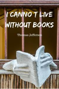 I cannot live without books #quote #bookquote #dubaiart